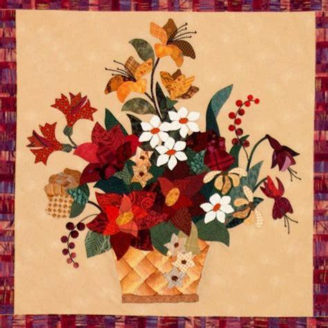 Floral Applique Quilt Patterns by 258 Best Images About Basket Quilts On