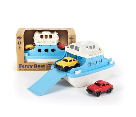 ferry boat toy ferry boat with cars bath toy by green toys gtfrba1038 3