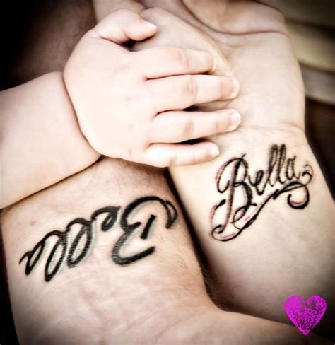 tattoo name baby baby name tattoo body art pinterest
