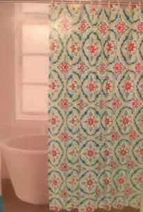 comfort bay designer print shower curtain or liner