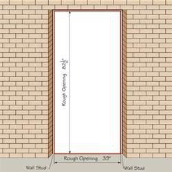 French Door Sizes Rough Opening - door sizes amp doors sizes u0026 doors sizes u0026 stunning standard door dimensions