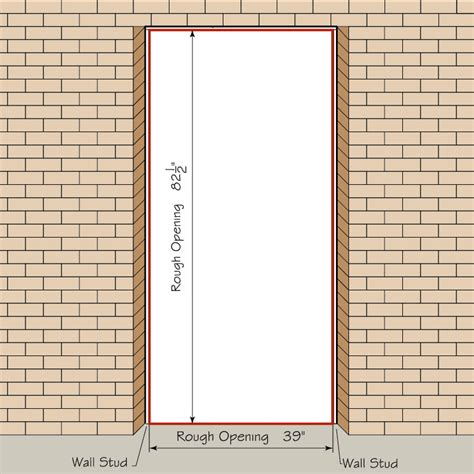 How To Measure Your Front Entry Door Replacement Exterior How To Measure Interior Door