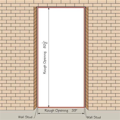 framing interior door opening how to measure your front entry door replacement exterior