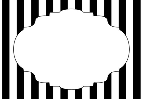 printable images black and white black and white striped labels free printable