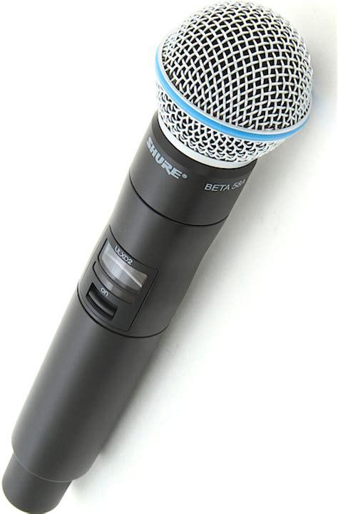 Mic Wireles Shure Gldx 24 Digital shure ulxd24 b58 handheld wireless microphone system