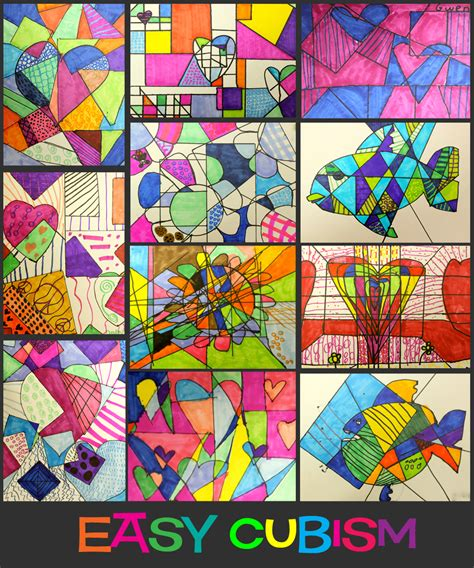 easy cubism paintings related keywords suggestions for easy cubism