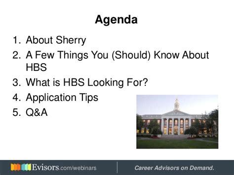 Harvard Business School Mba Webinar by Applying To Harvard Business School