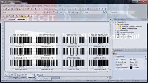 Microsoft Excel Etiketten Drucken by Barcode Etiketten Mit Excel Daten Drucken Tformer