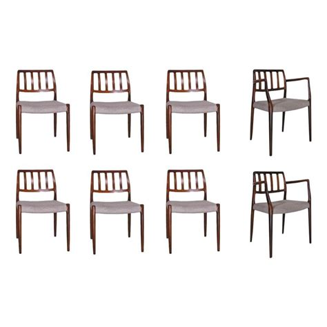 neils moller no 82 highback dining chairs in rosewood set of 10 at 1stdibs 17 best images about niels otto moller dining chairs on