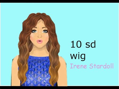 Tutorial Wig Stardoll | stardoll 10 sd wig tutorial youtube