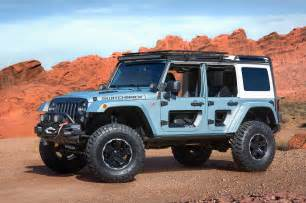 Jeep Wrangler Unlimited Moab 2017 Jeep Concepts At The Easter Jeep Safari In Moab