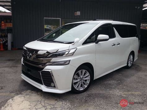 Toyota Vallfire 2015 Toyota Vellfire For Sale In Malaysia For Rm288 000