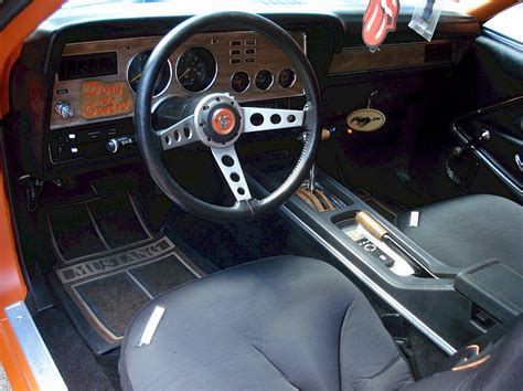 Mustang Ii Interior by Tangerine Orange 1978 Ford Mustang Ii Coupe
