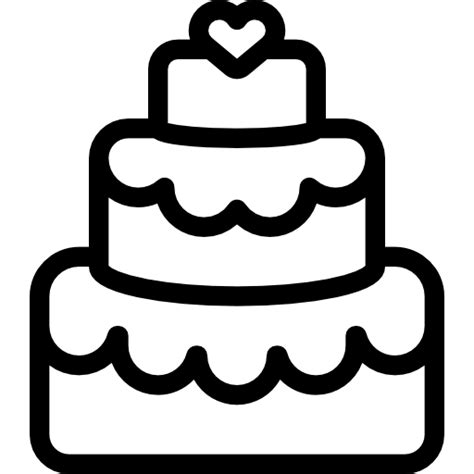Hochzeitstorte Icon by Wedding Cake Free Food Icons
