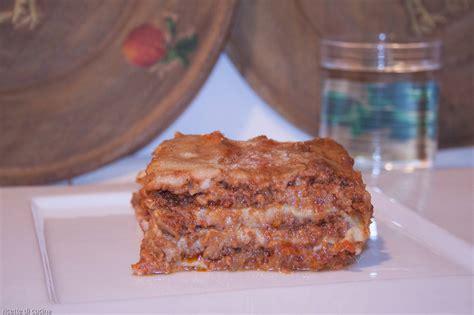 come cucinare lasagne lasagne al rag 249 bolognese ricette di cucina