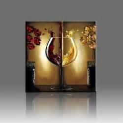 glass decoration pieces wine glass painted painting flower landscape