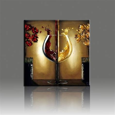 Wine Glass Wall Decor by Popular Painted Wine Glass Buy Cheap Painted Wine Glass