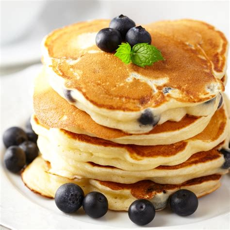 Blueberry Pancake Recipe | easy blueberry pancakes recipe dishmaps