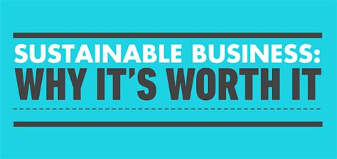 Is Mba In Marketing Worth It by Sustainable Business Why It S Worth It Infographic