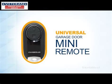 How To Program A Chamberlain Universal Garage Remote by Remotes Archives