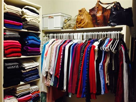 color coordinated closet creative organizing solutions