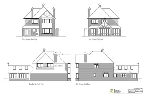 how to draw elevations sbm projects