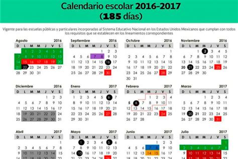 calendario para el ciclo escolar 2016 2017 sep sep publica lineamientos para calendario escolar la raz 243 n