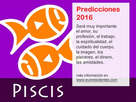 el horoscopo 2016 horscopos in hor 243 scopo piscis 2016