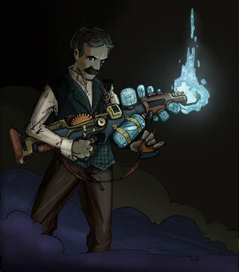 Tesla Deathray Nikola Tesla By Pushxtonotdie On Deviantart