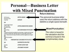 Business Letter Return Address How To Format A Business Letter Ppt