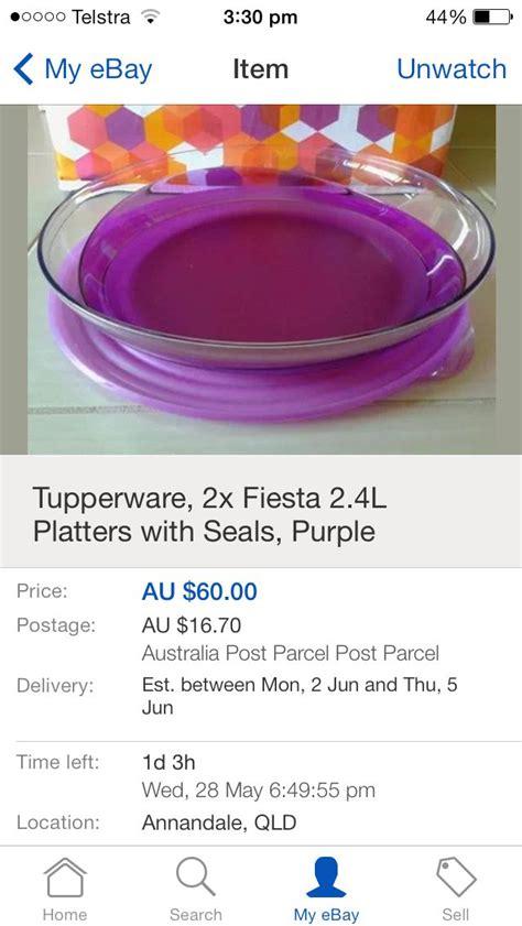 Tupperware Violet purple tupperware kitchen purple and
