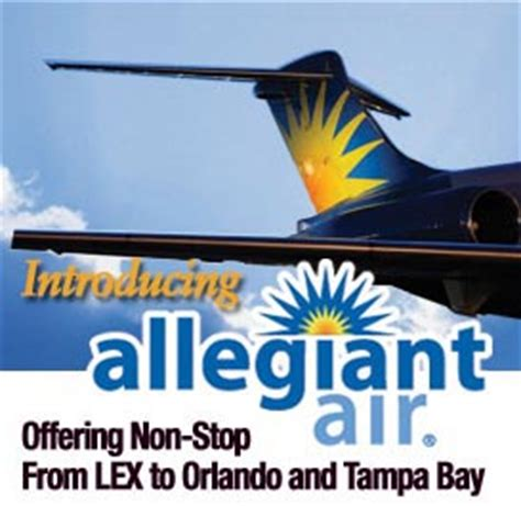 blue grass airport ky allegiant air 69 one way fares