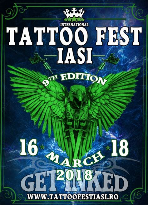 tattoo convention march 2018 9th international tattoo fest iasi march 2018