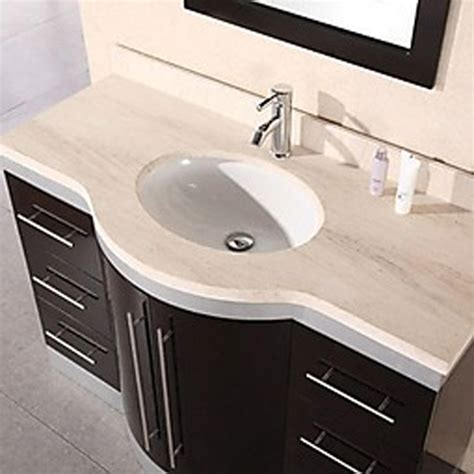 48 sink vanity 48 quot single sink vanity set zuri furniture