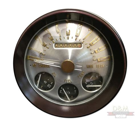 speedometer check section classic car instrument cluster repair and restoration