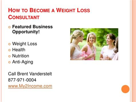Weight Loss Consultant by How To Become A Weight Loss Consultant