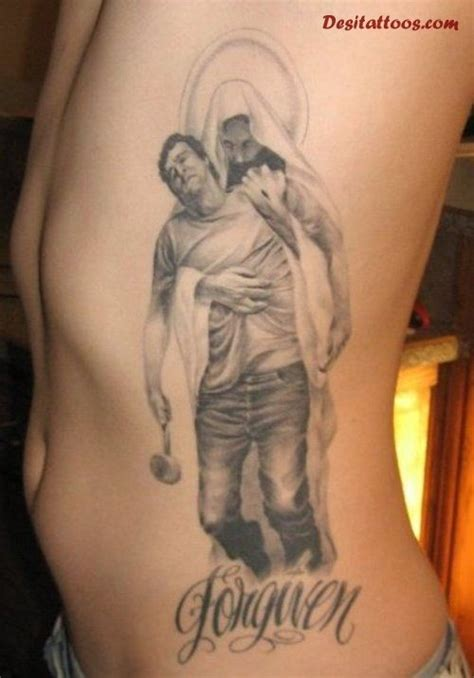 tattoo of jesus holding a man jesus holding man with hammer google search tattoo