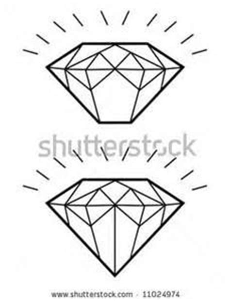 tattoo diamond outline diamond tattoo outline tattoo outlines pinterest