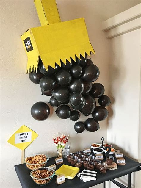 21 Construction Birthday Party Ideas   Pretty My Party