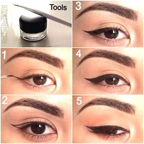 tutorial memakai eyeliner gel wardah 25 best ideas about gel eyeliner on pinterest gel