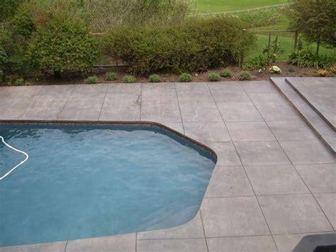 pool deck lastiseal concrete stain sealer modern