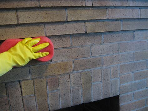 how to clean a brick fireplace flickr photo