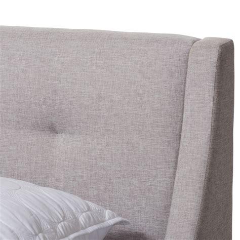baxton studio louvain modern  contemporary greyish