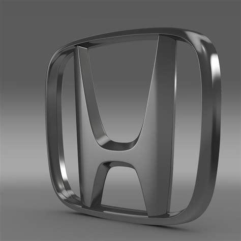 Emblem 3d Logo Sayap Honda Sepasang honda logo 3d model max obj 3ds fbx c4d lwo lw lws cgtrader
