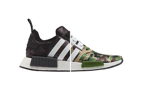 Adidas Nmd Bape Premium Quality bape x adidas originals nmd official store links hypebeast