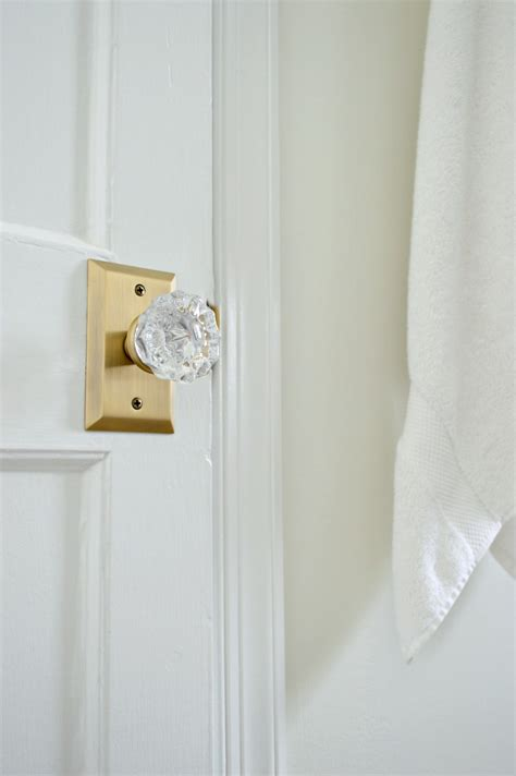 new glass door knobs updating doors with new glass door knobs
