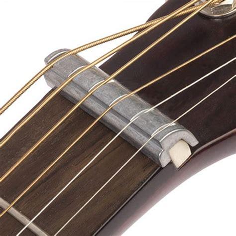 Nut Electric Metal Stratocaster Black guitar nut steel slide converter guitarbitz