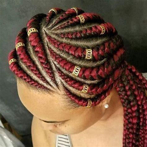 ghana weaving   styles african hairstyles  ladies maboplus braids hairstyles