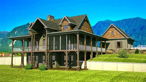 porch house plans rustic house plans with wrap around porch