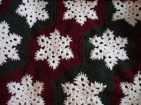 snowflake pattern crochet afghan 17 best images about crochet christmas afghans on
